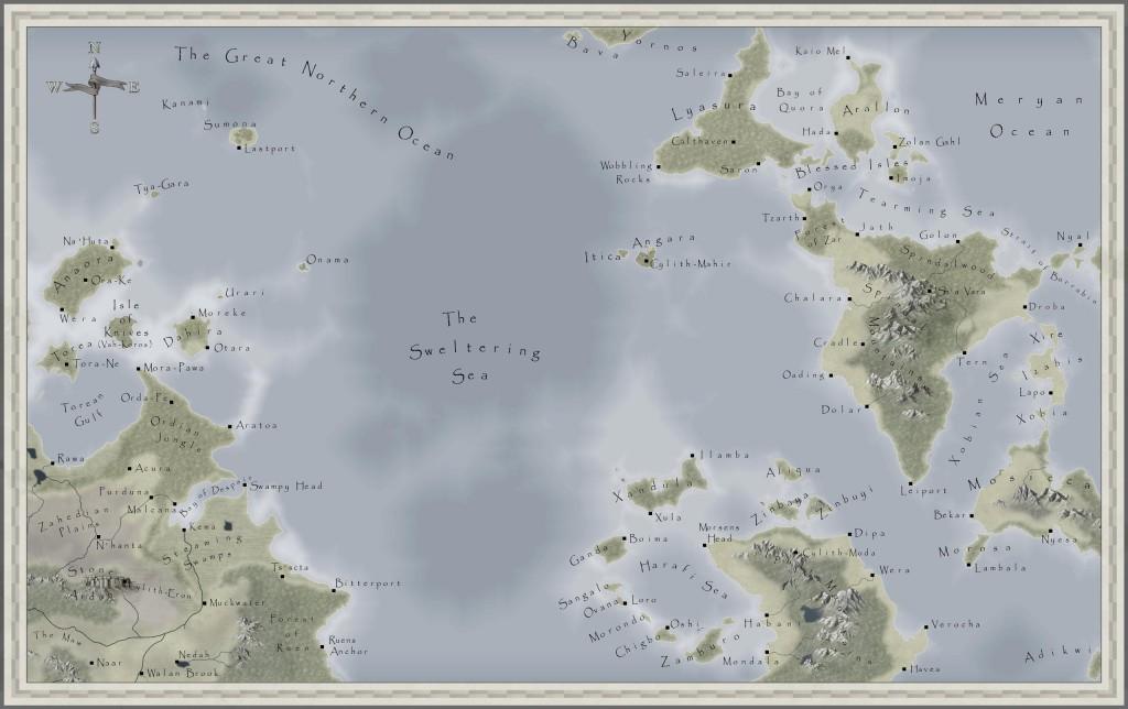 Sweltering Sea Region