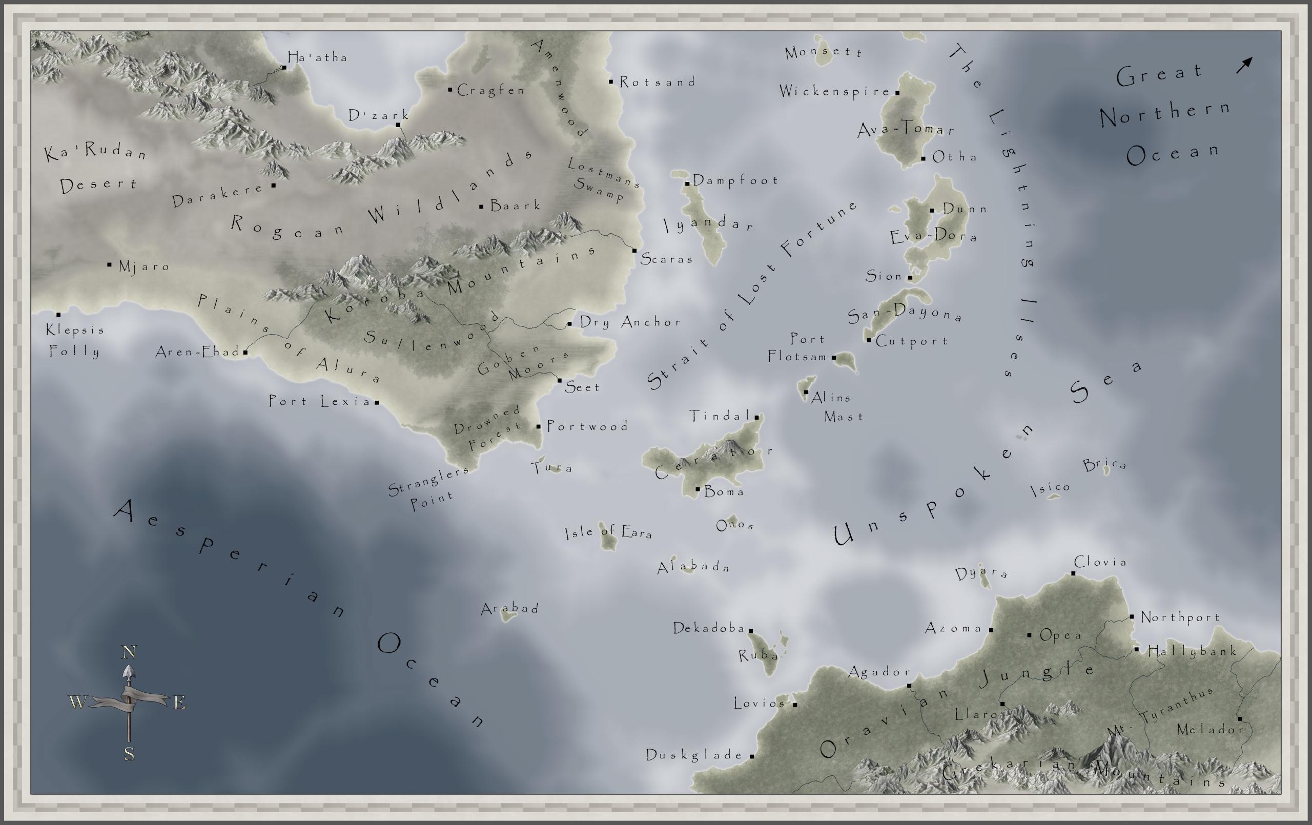 Unspoken Sea Region